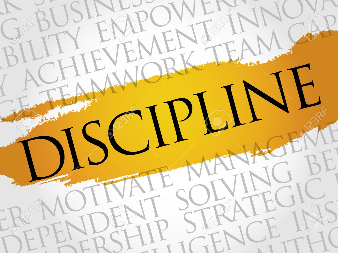 Image result for images for the word disciplined