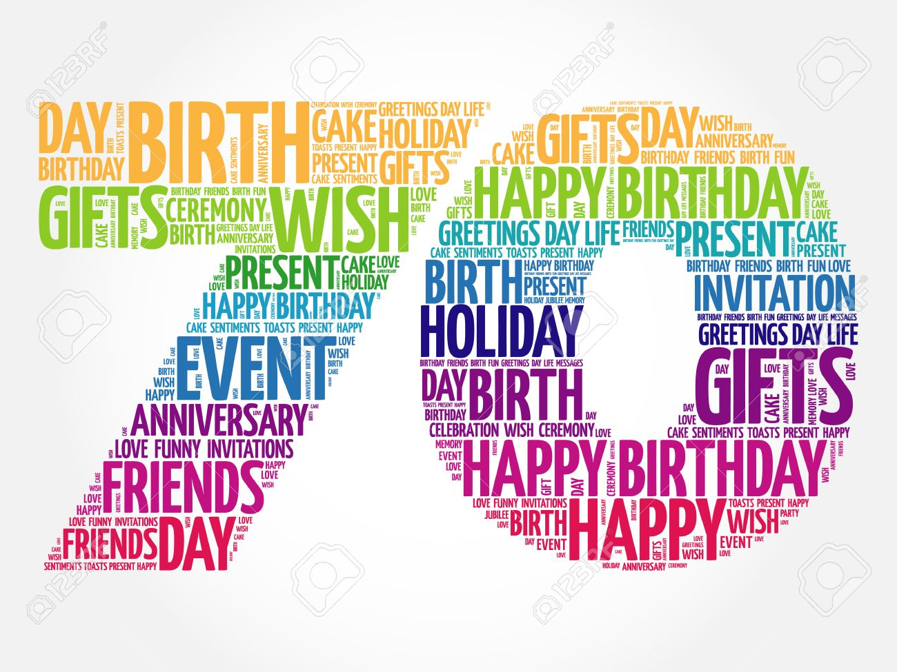 70th birthday stock photos royalty free 70th birthday images