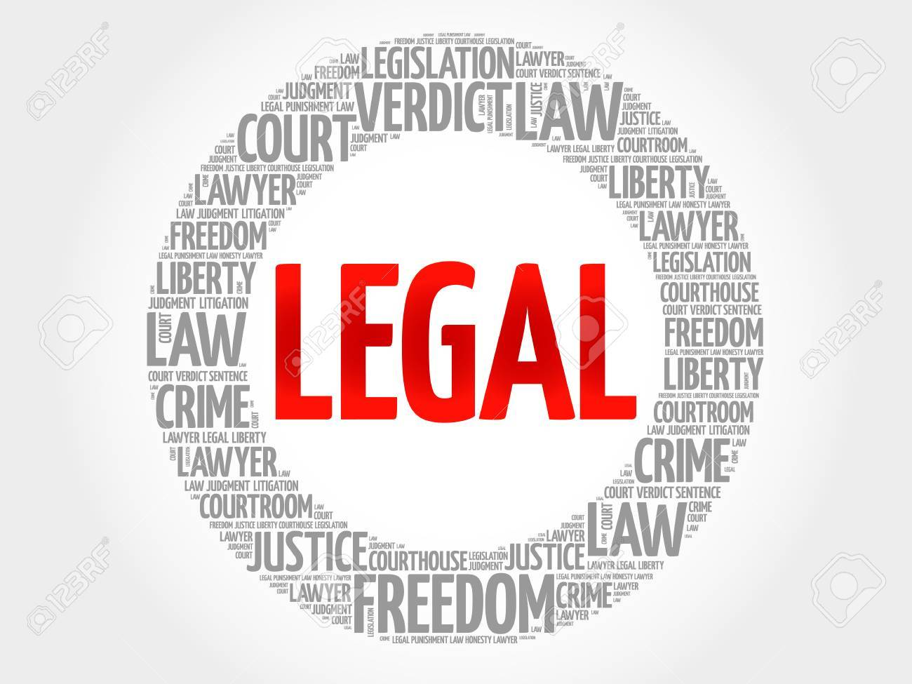 legal word cloud concept royalty free cliparts vectors and stock