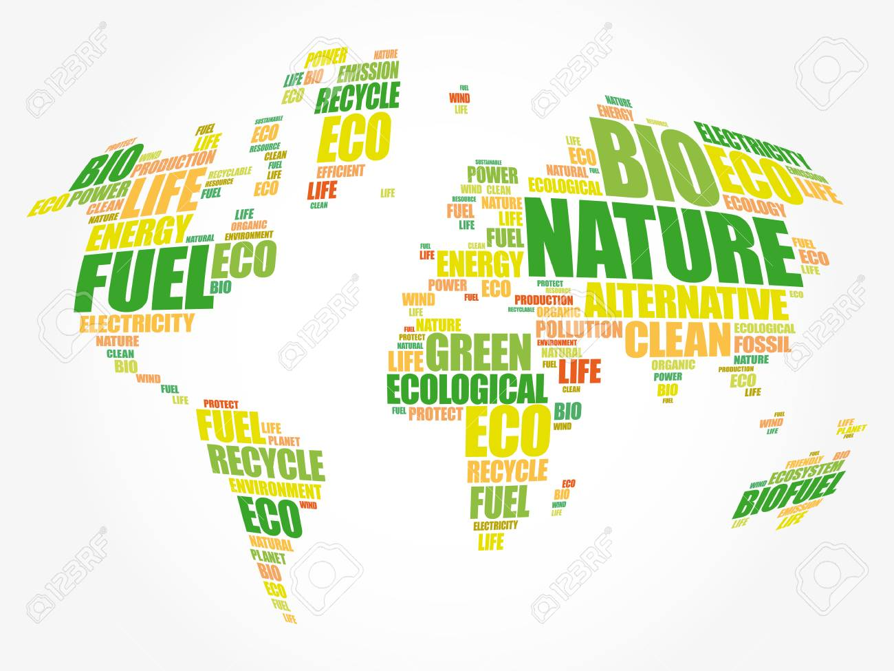 Ecology theme world map in typography word cloud conceptual ecology theme world map in typography word cloud conceptual background stock vector 80855172 gumiabroncs Image collections