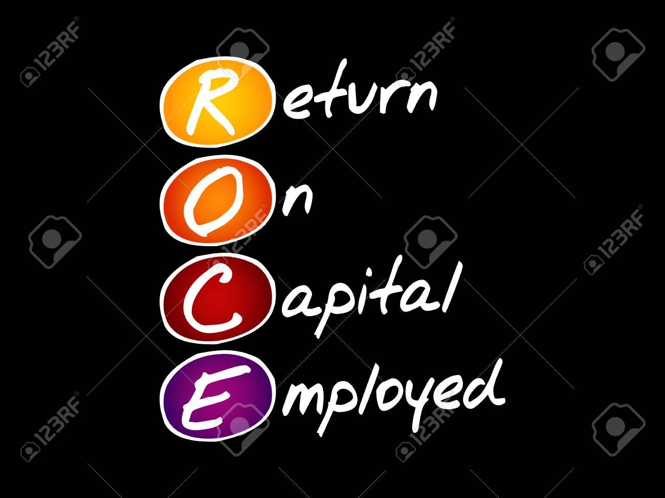 Return On Capital Employed Icon