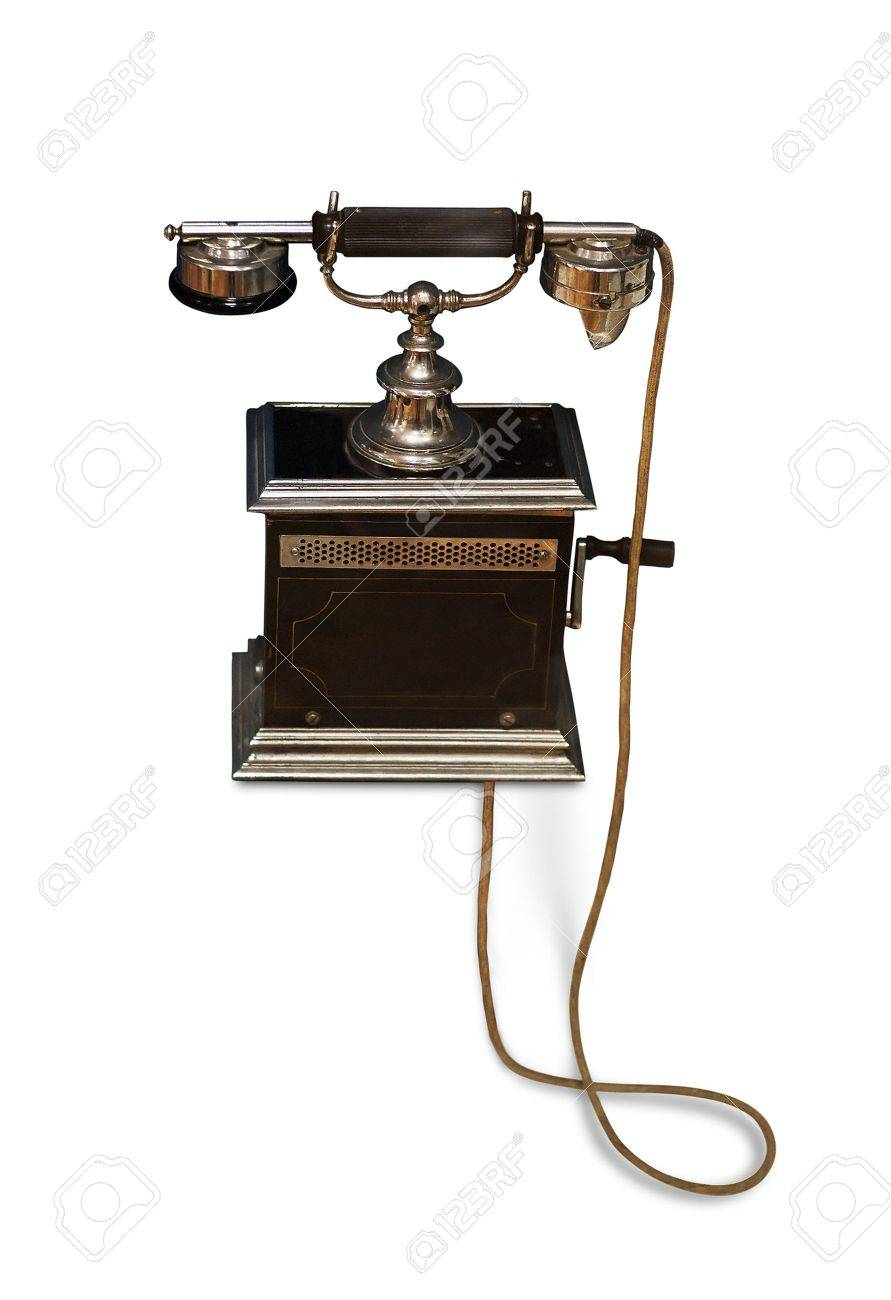 Vintage phone Stock Photo - 6657350