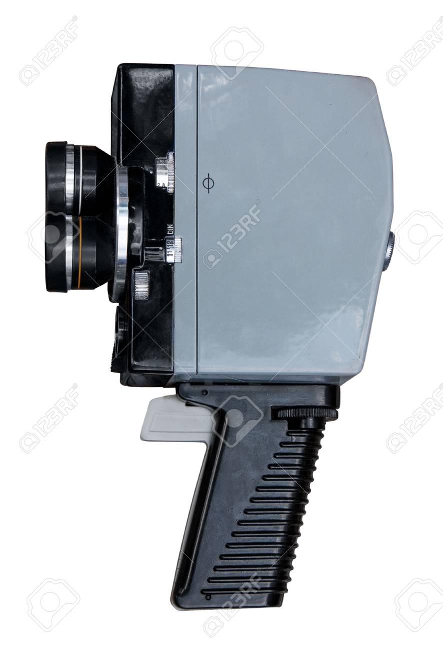 Vintage 8mm movie camera. Stock Photo - 10026836