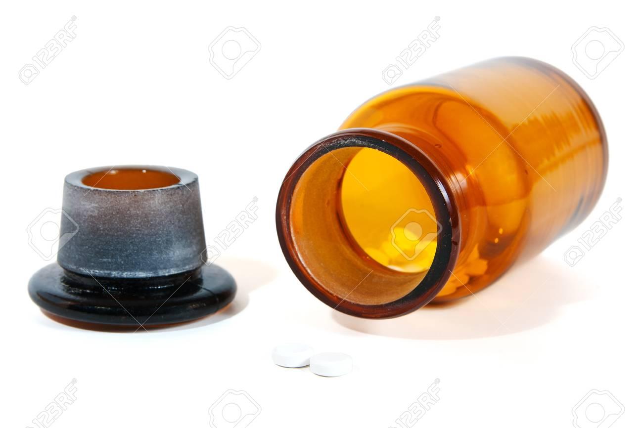 Vintage pharmacy bottle Stock Photo - 10026070