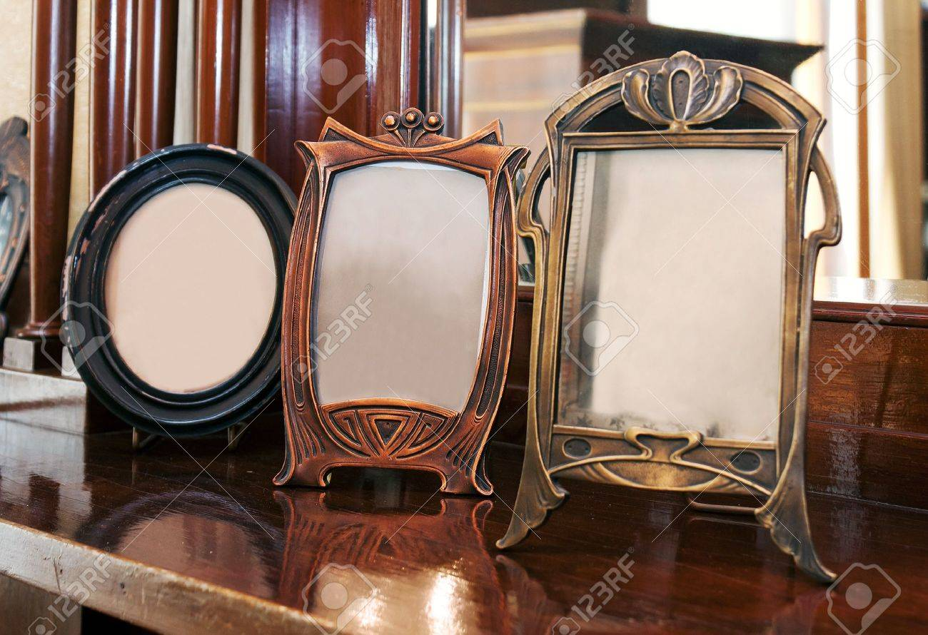 Antique photoframes Stock Photo - 10029126