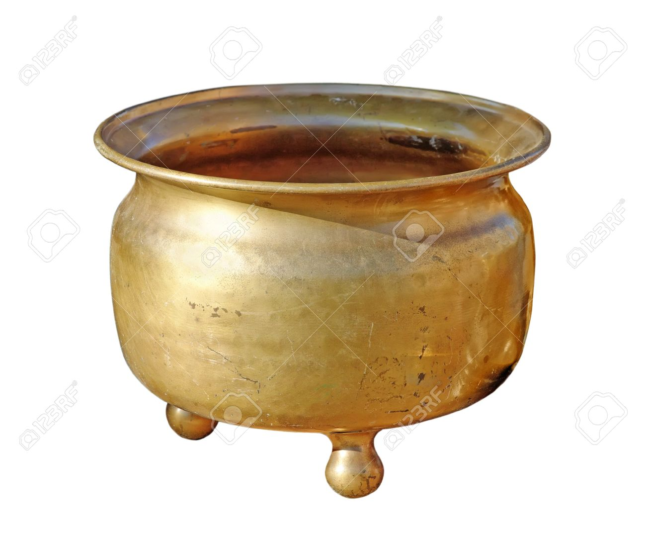 Antique copper chamber-pot - 10401081