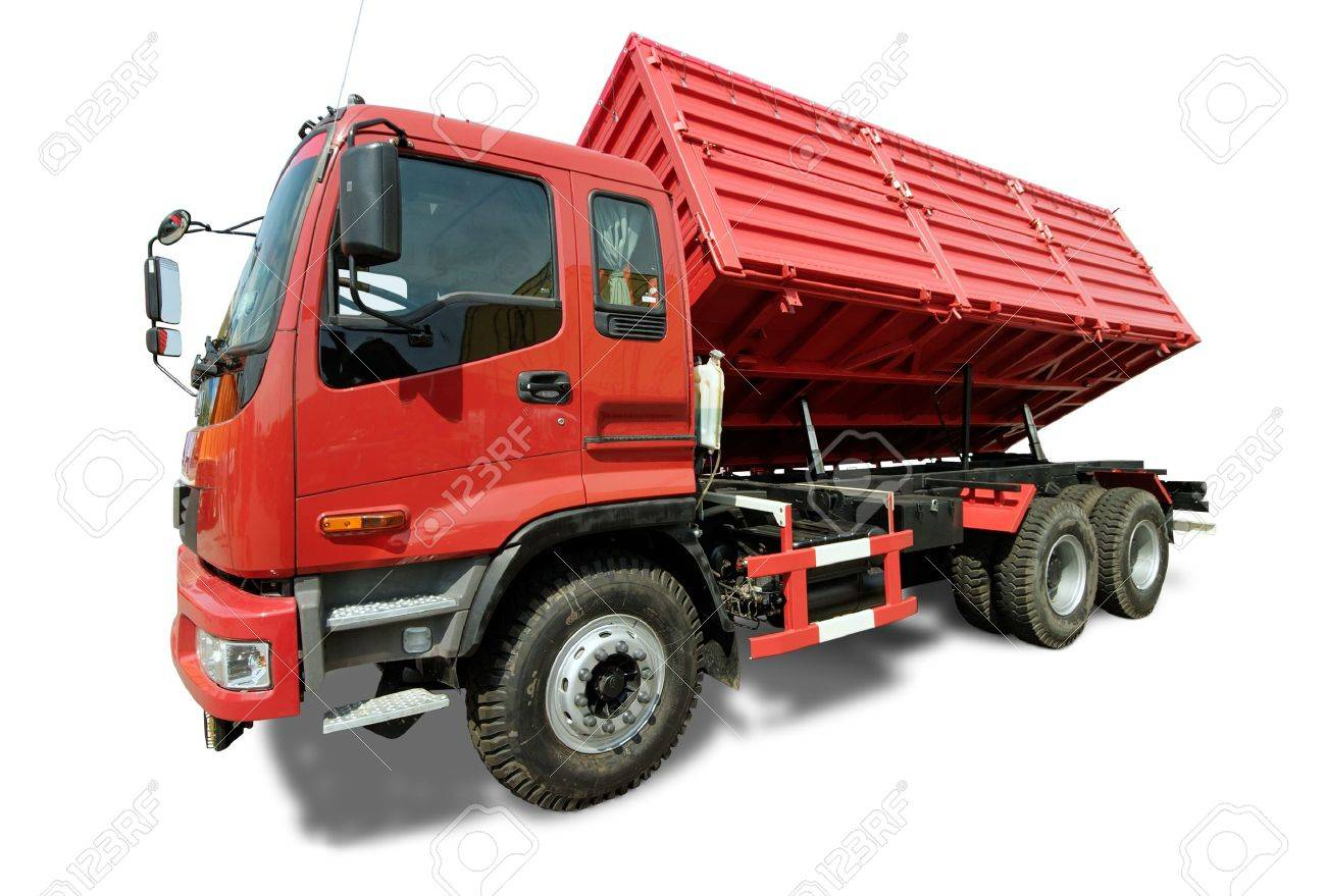 Big red truck tipper - 10160358
