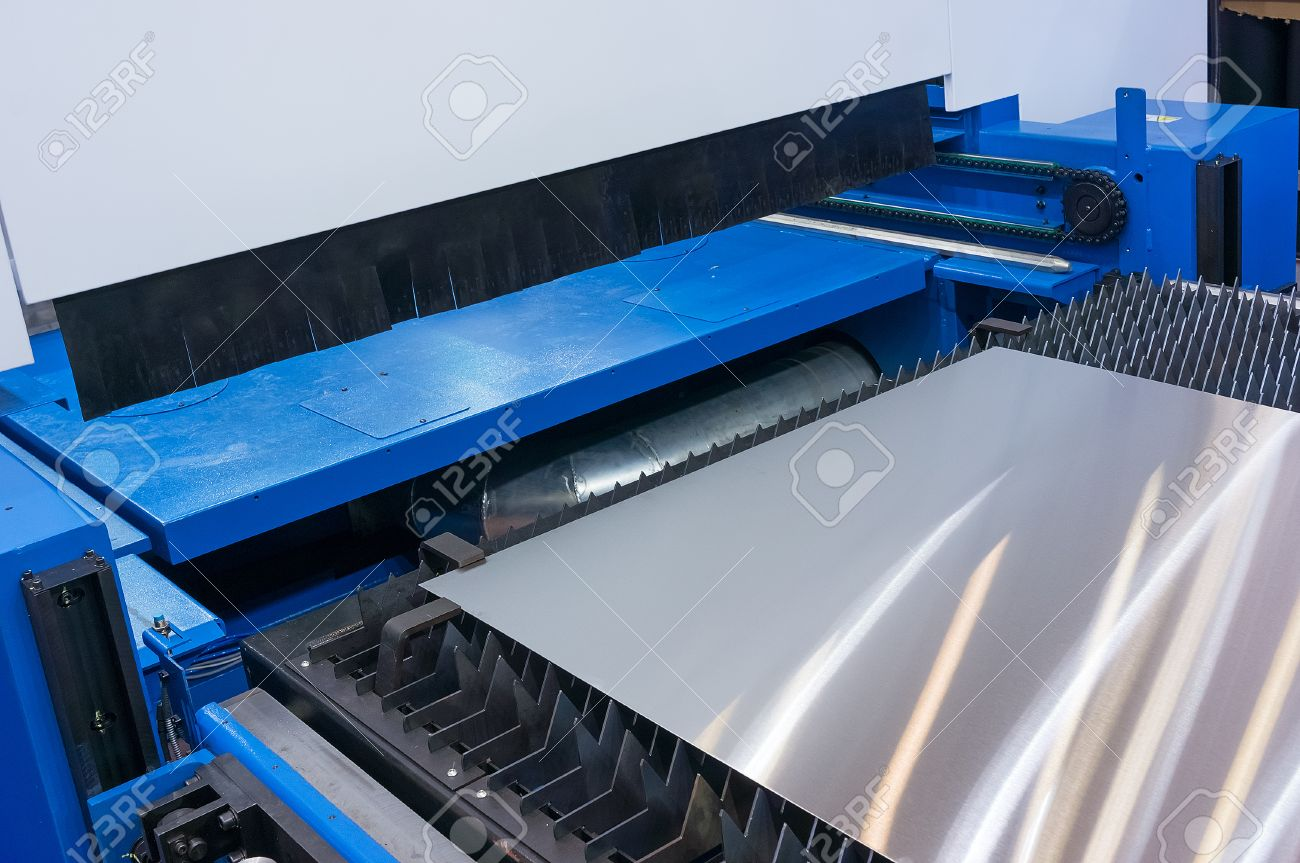 Industrial stamping / cutting machine fragment - 67109180