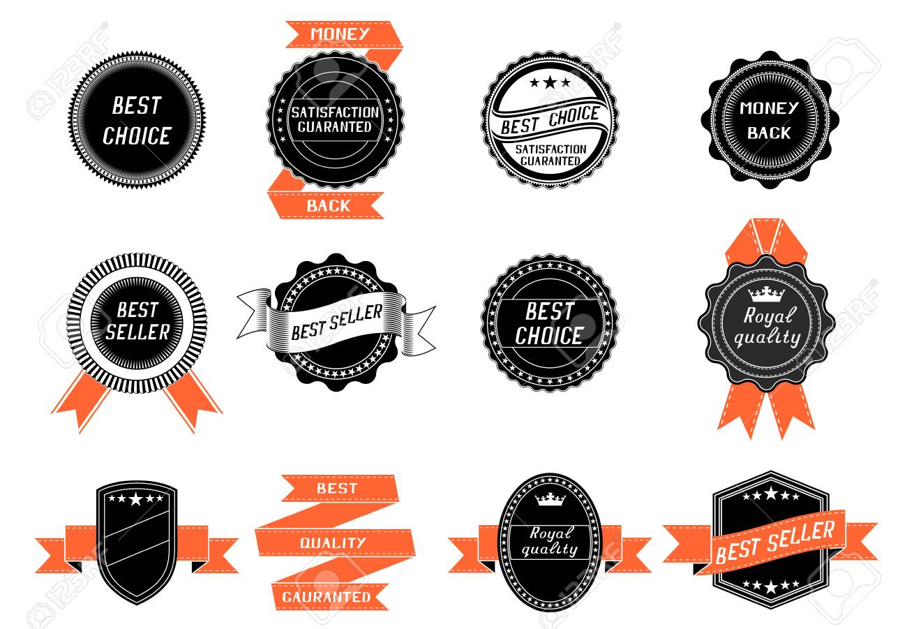 Set of labels Stock Vector - 20241379