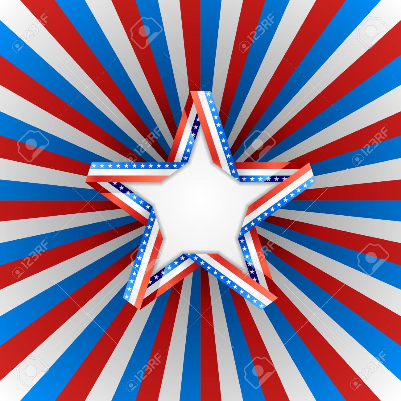 Patriotic background Stock Vector - 20241366