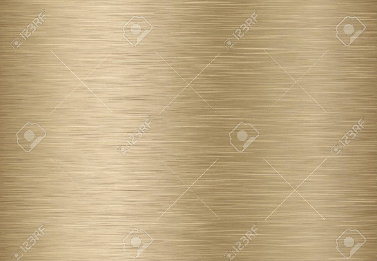 Technology background with golden, bronze, brushed metal texture. EPS 10 contains transparency. - 64730539
