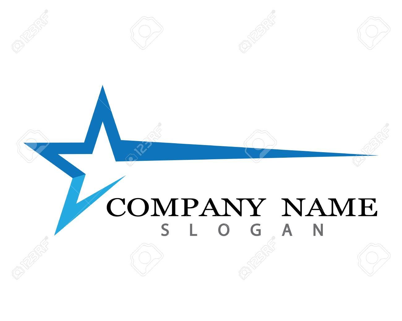Star Logo Template vector icon illustration design - 105671036