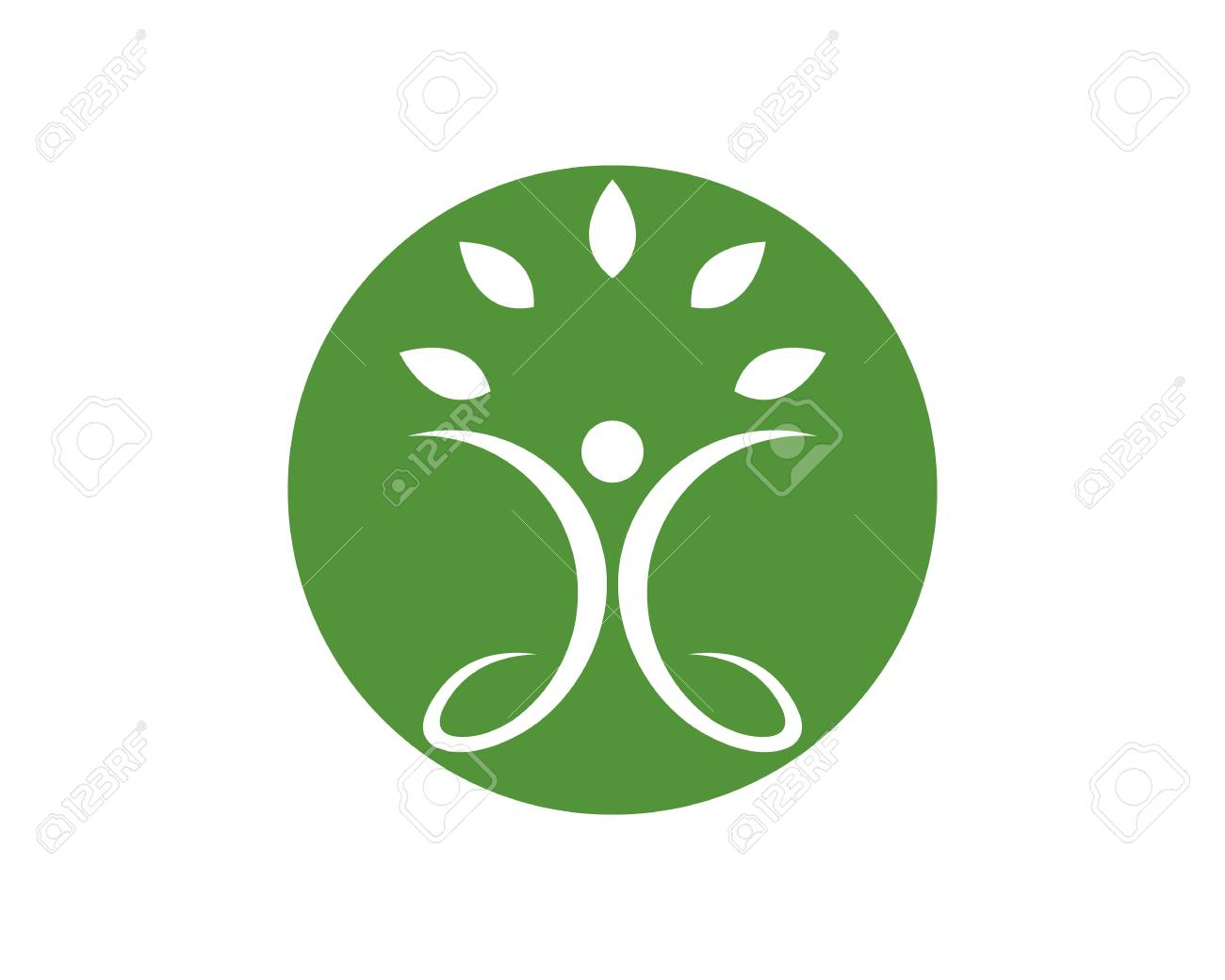 Healthy Life Logo template vector icon illustration design - 106195885