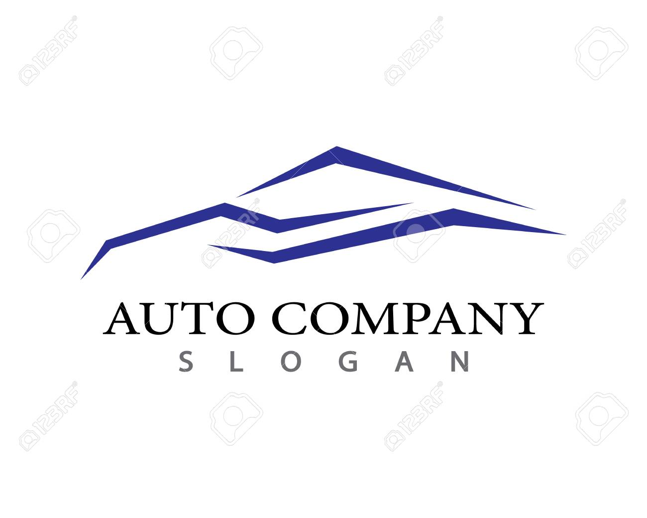 Auto Car Logo Template Vector Icon Illustration Design Royalty Free