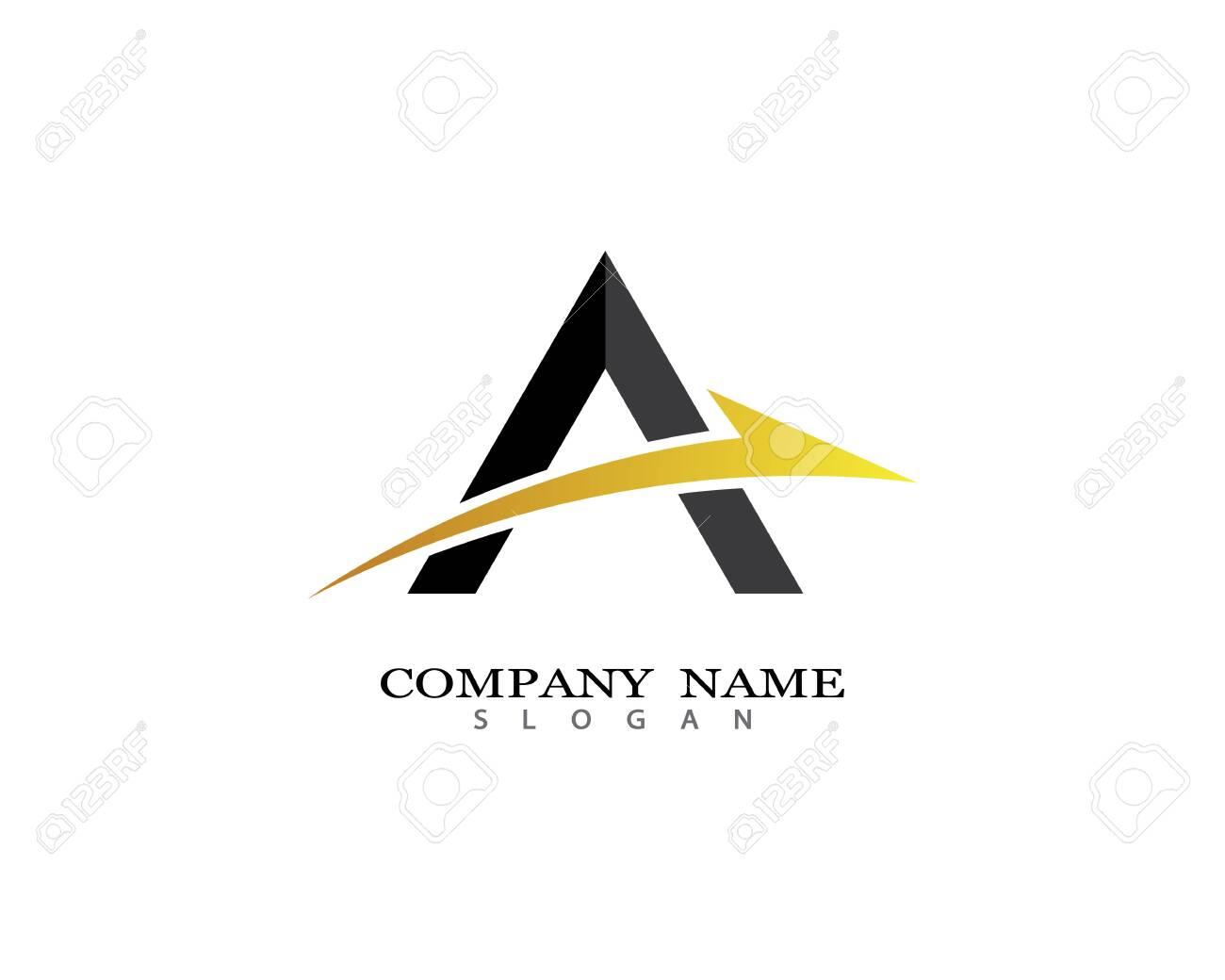 Letter a symbol illustration design - 143838320