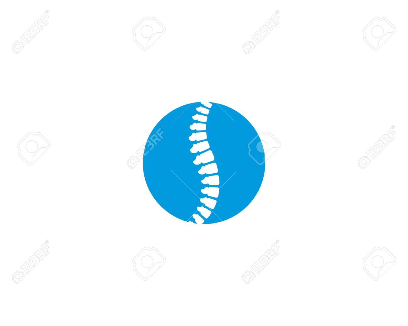 Spine vector icon symbol illustration design - 145768627