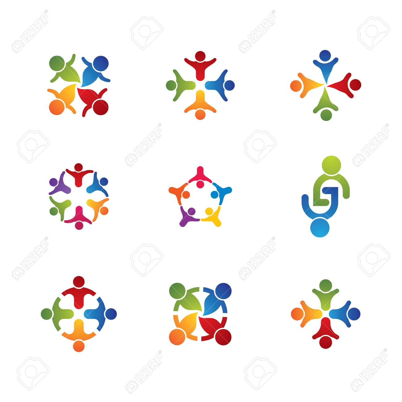 Community vector icon illustration design - 150506604