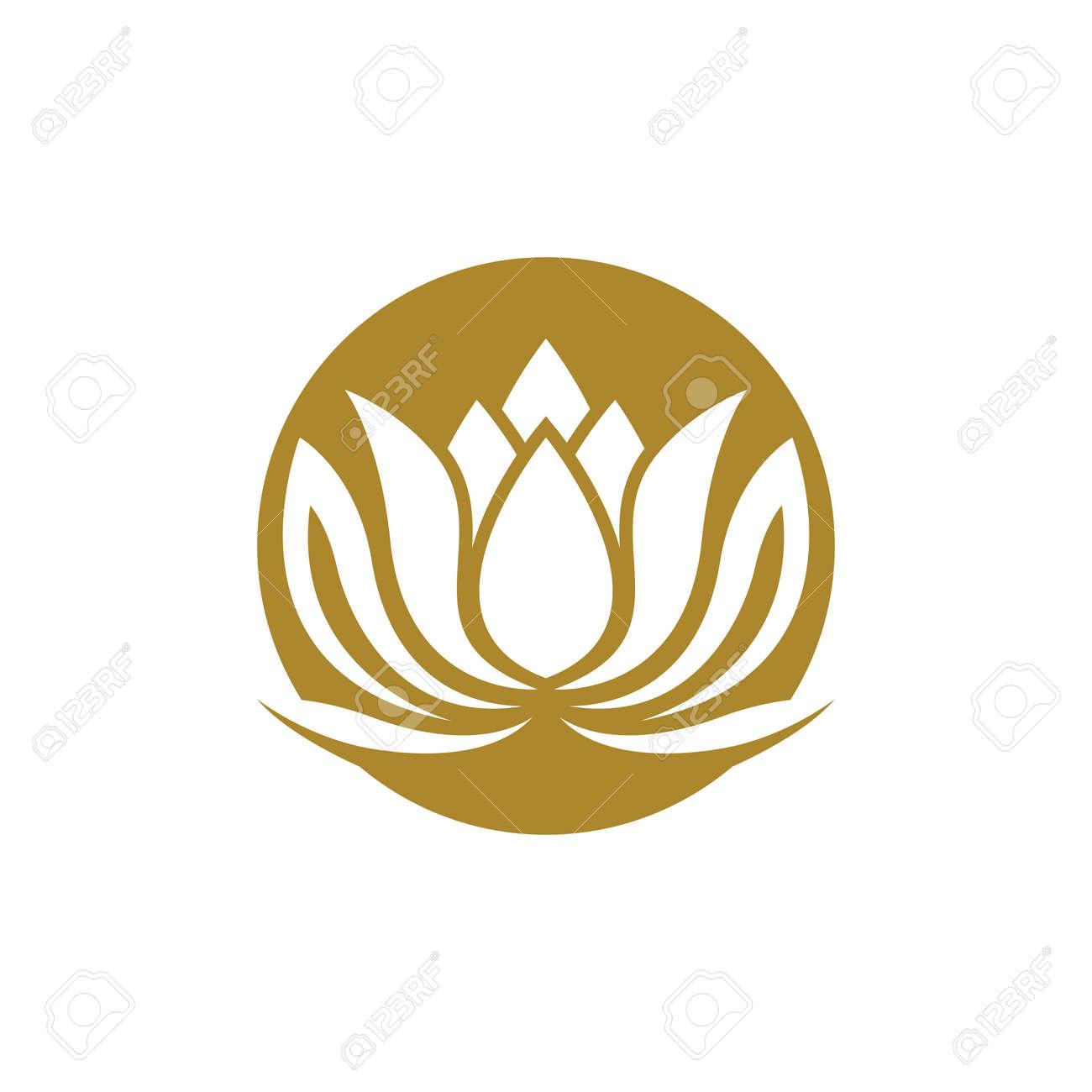 Beauty lotus logo images illustration design - 167448487