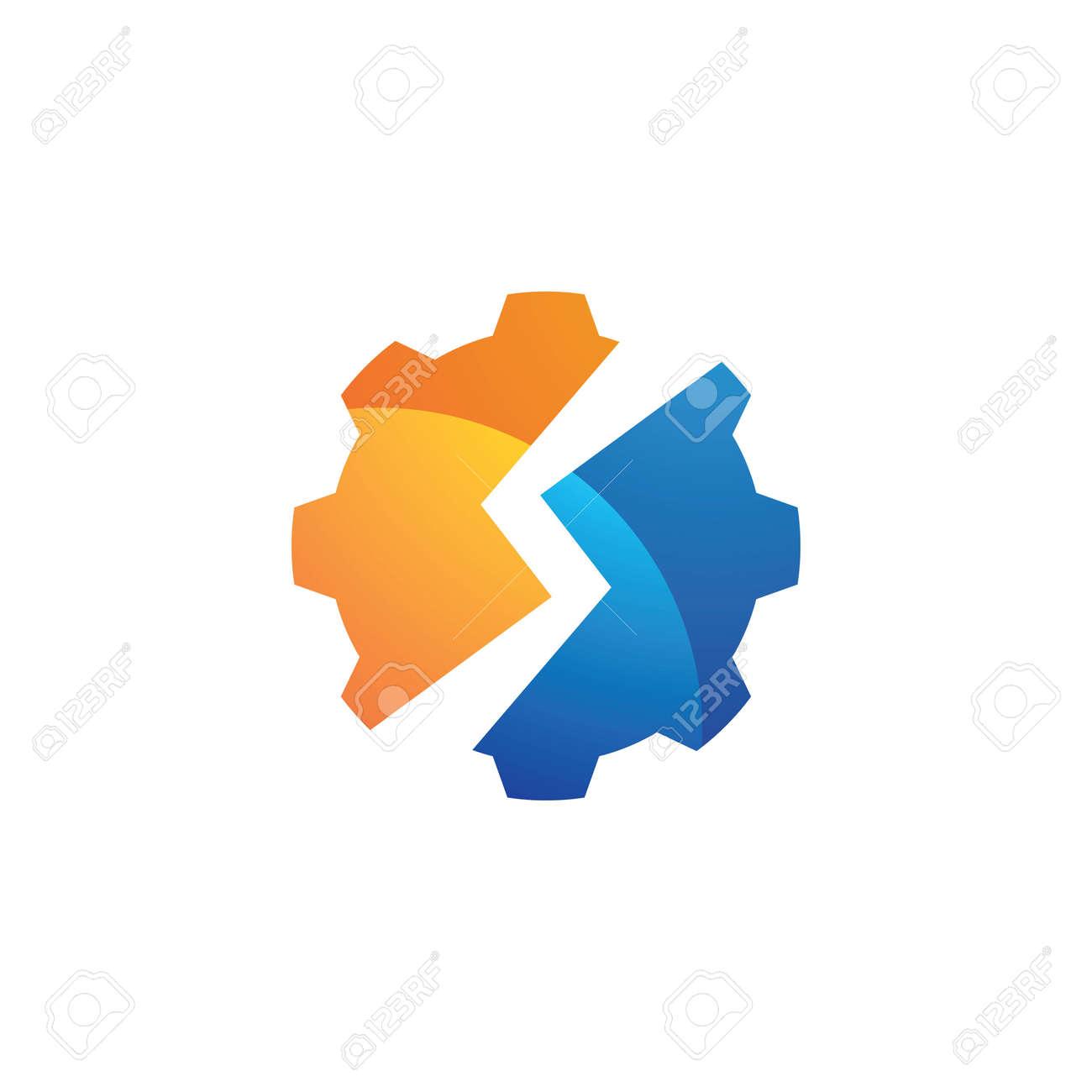 Gear logo images illustration design - 167448499