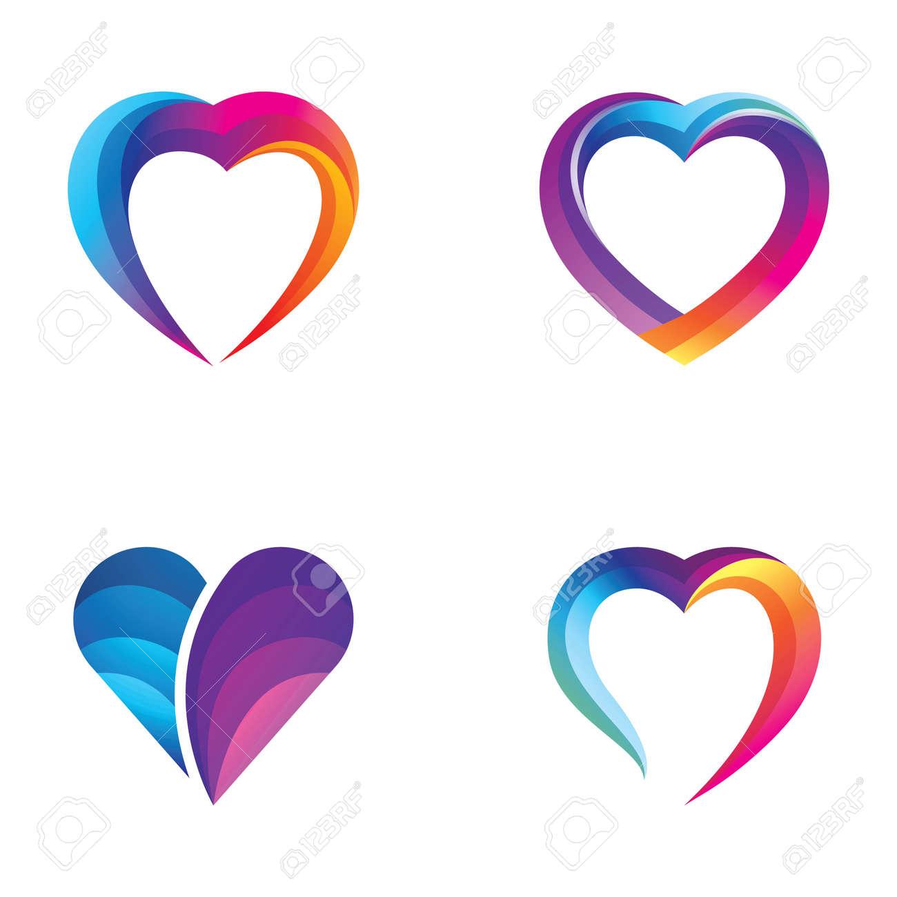 Love logo images illustration design - 167448543