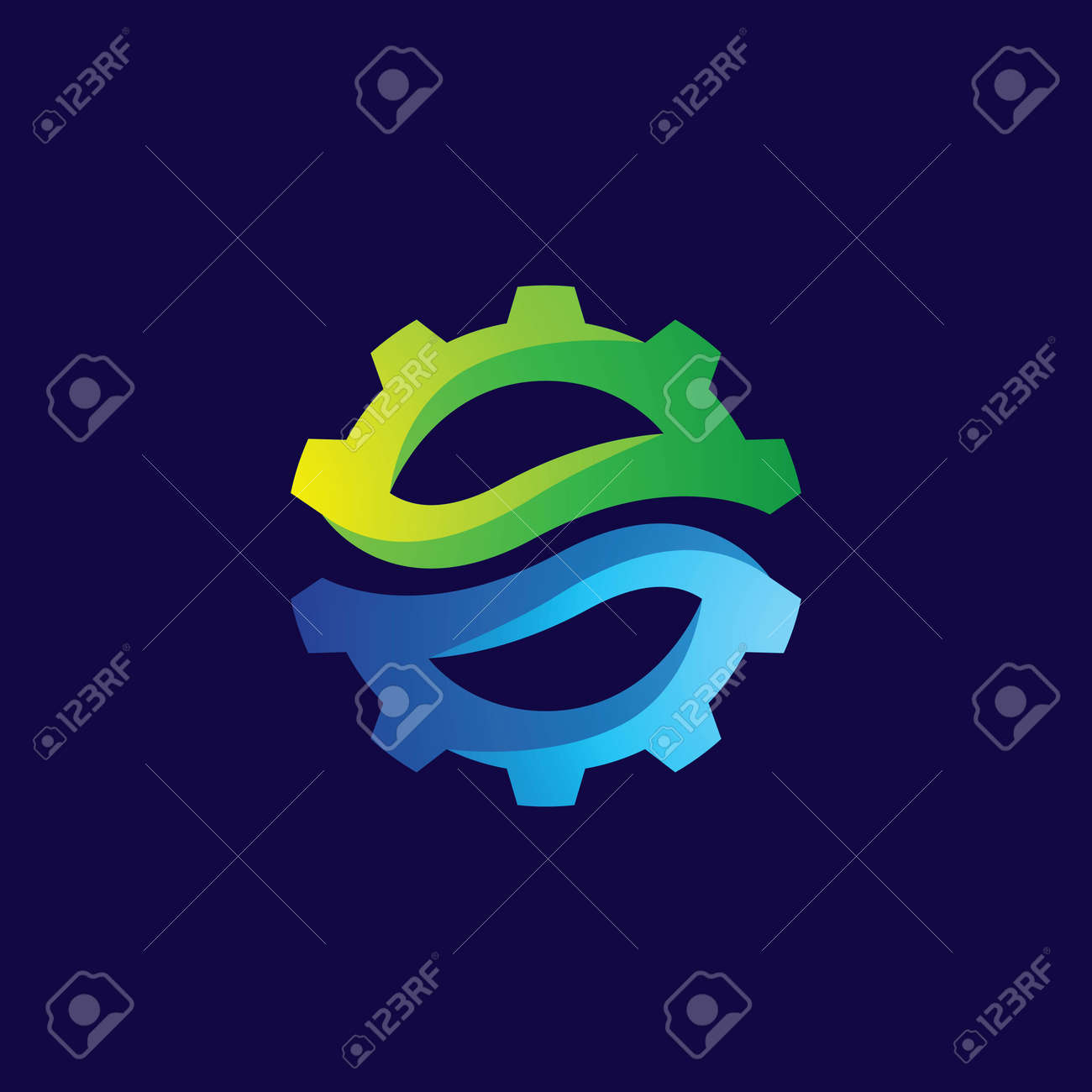 Gear logo images illustration design - 167448551