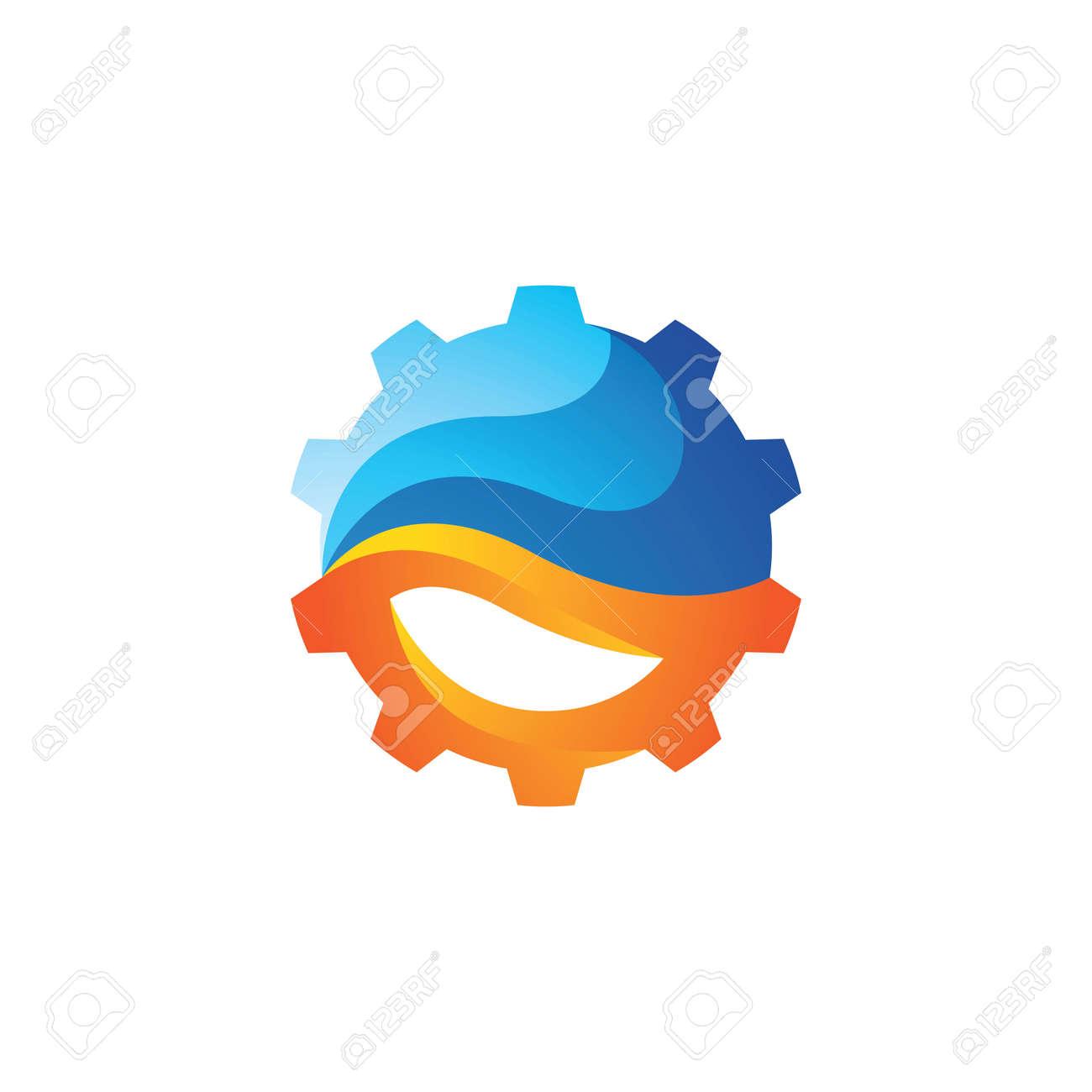 Gear logo images illustration design - 167448554