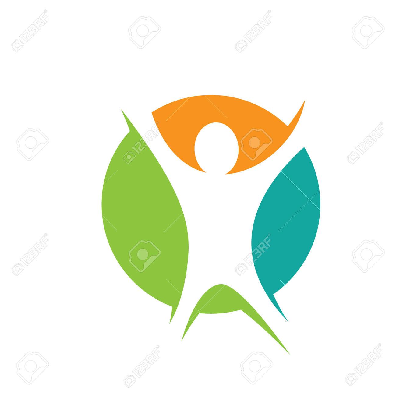 Wellness logo images design illustration - 167448560