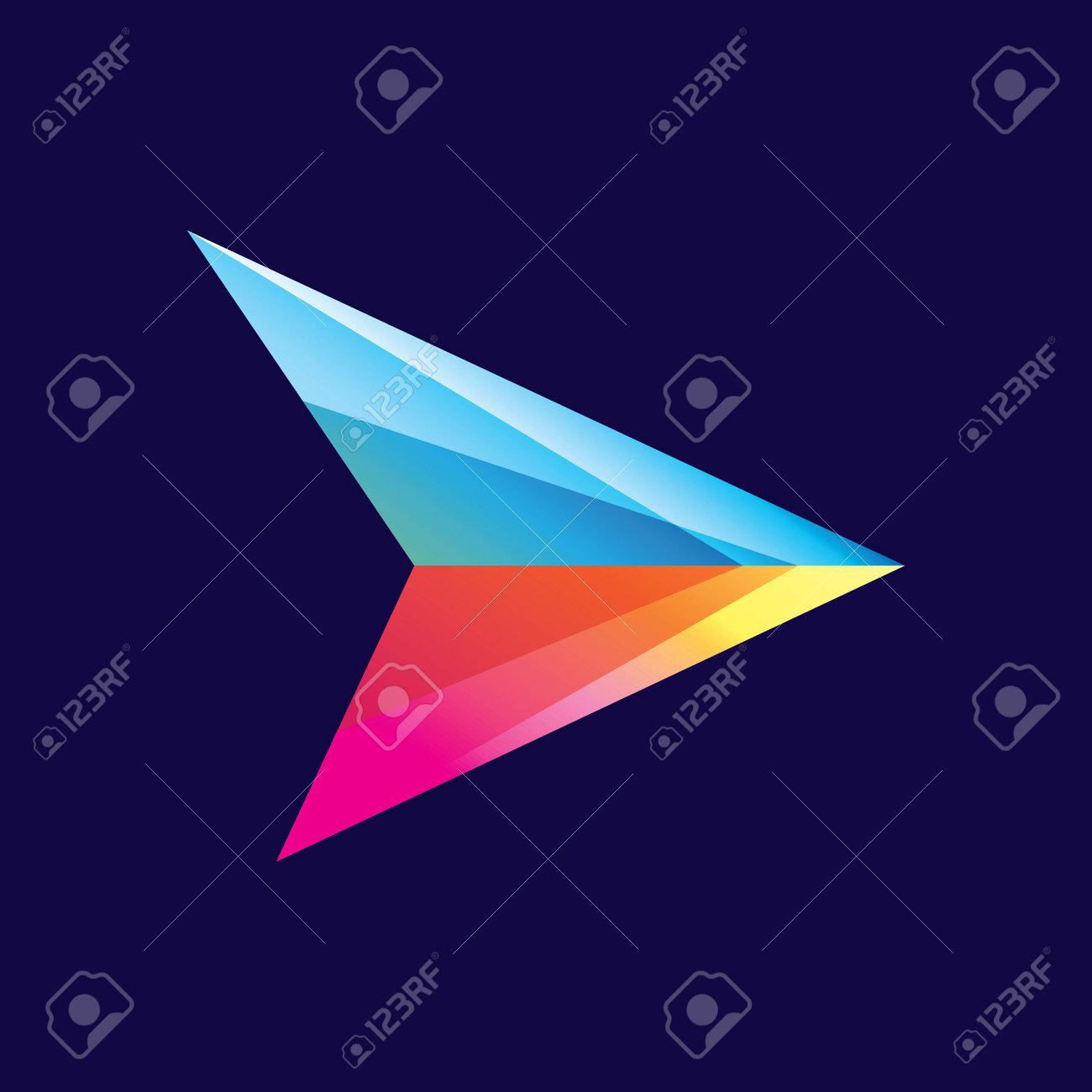 Arrow logo images illustration design - 167448784