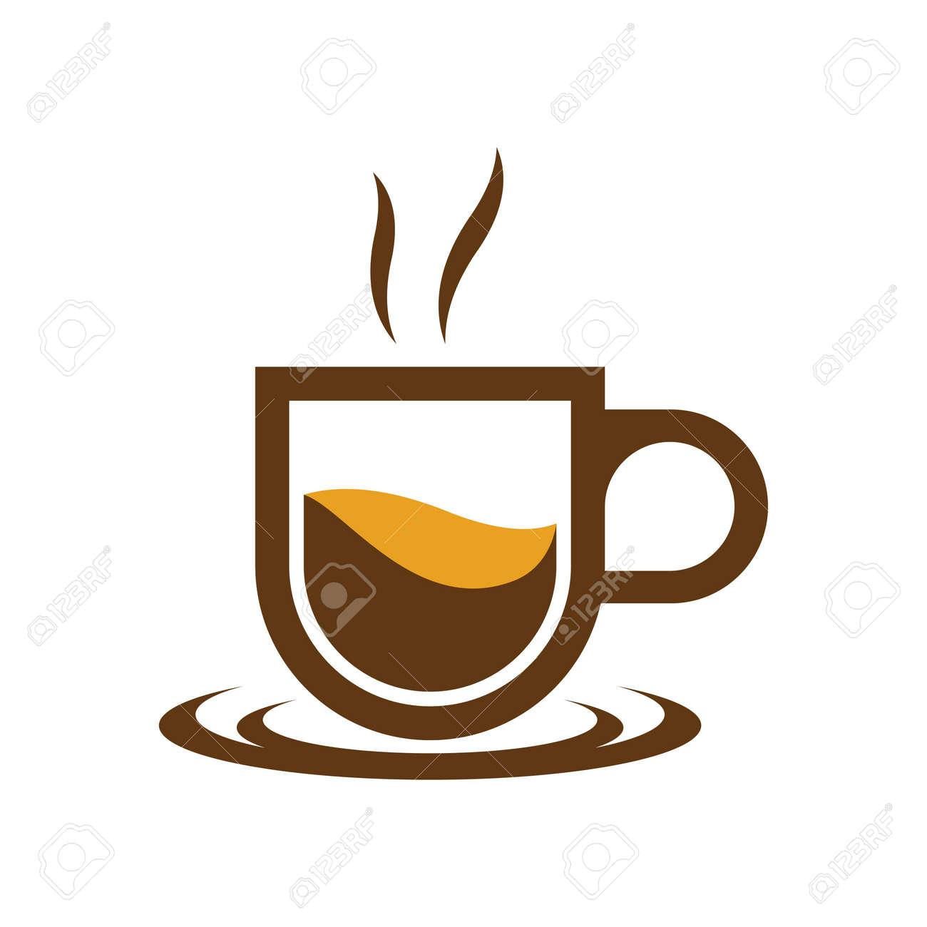 Coffee cup logo images illustration design - 167448790