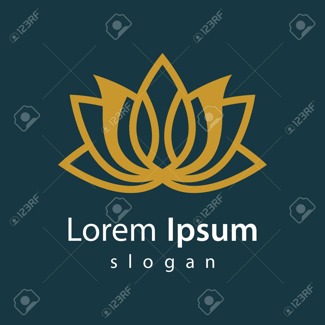 Beauty lotus logo images illustration design - 167448832