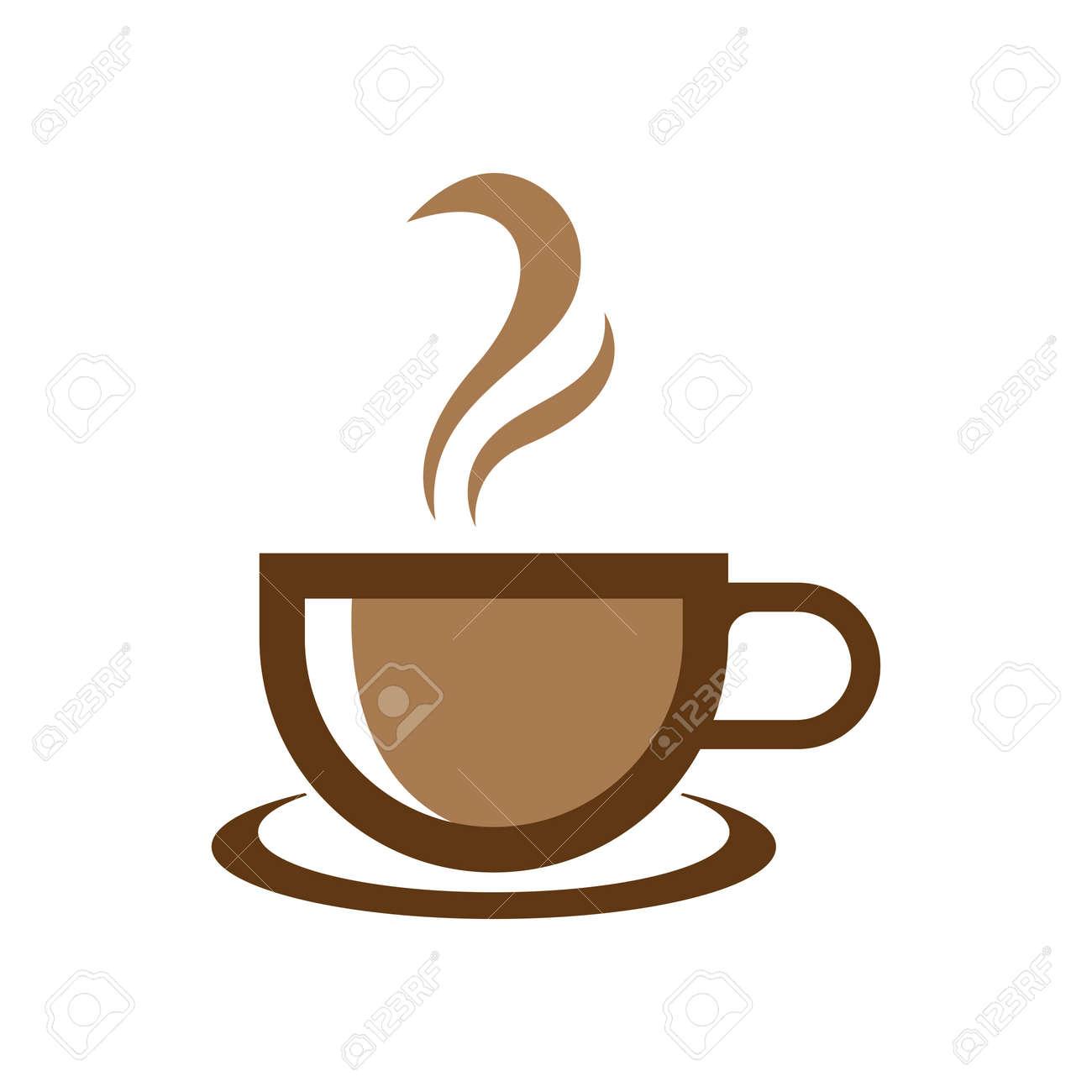 Coffee cup logo images illustration design - 167448835