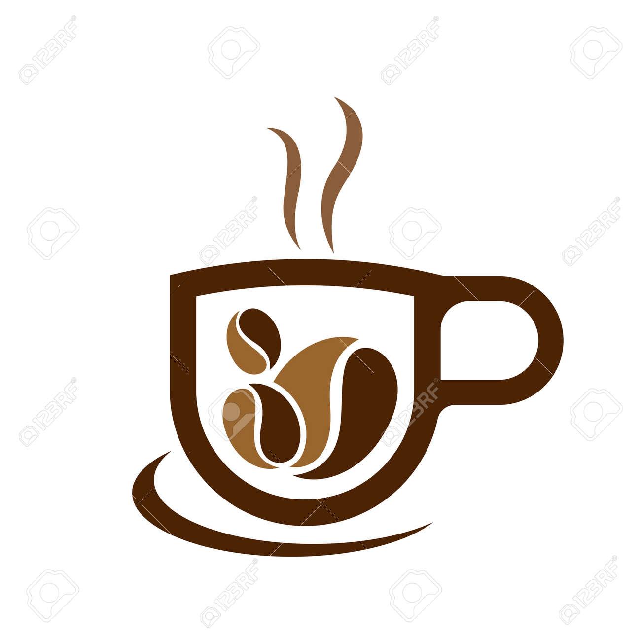 Coffee cup logo images illustration design - 167448836