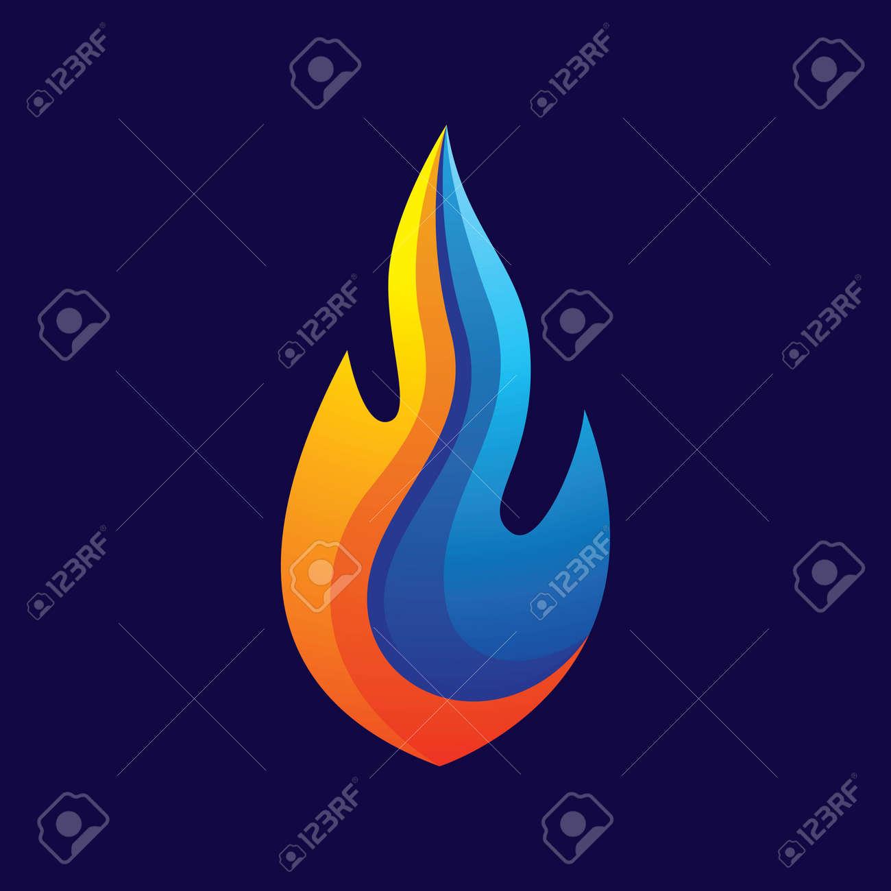 Fire logo images illustration design - 168292201