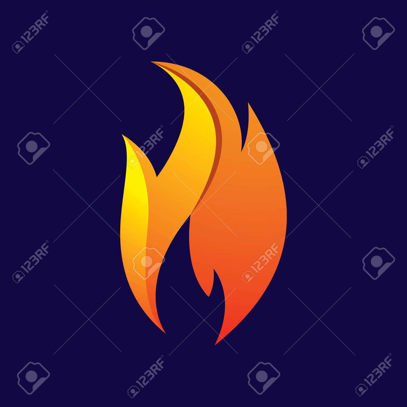 Fire logo images illustration design - 168292208