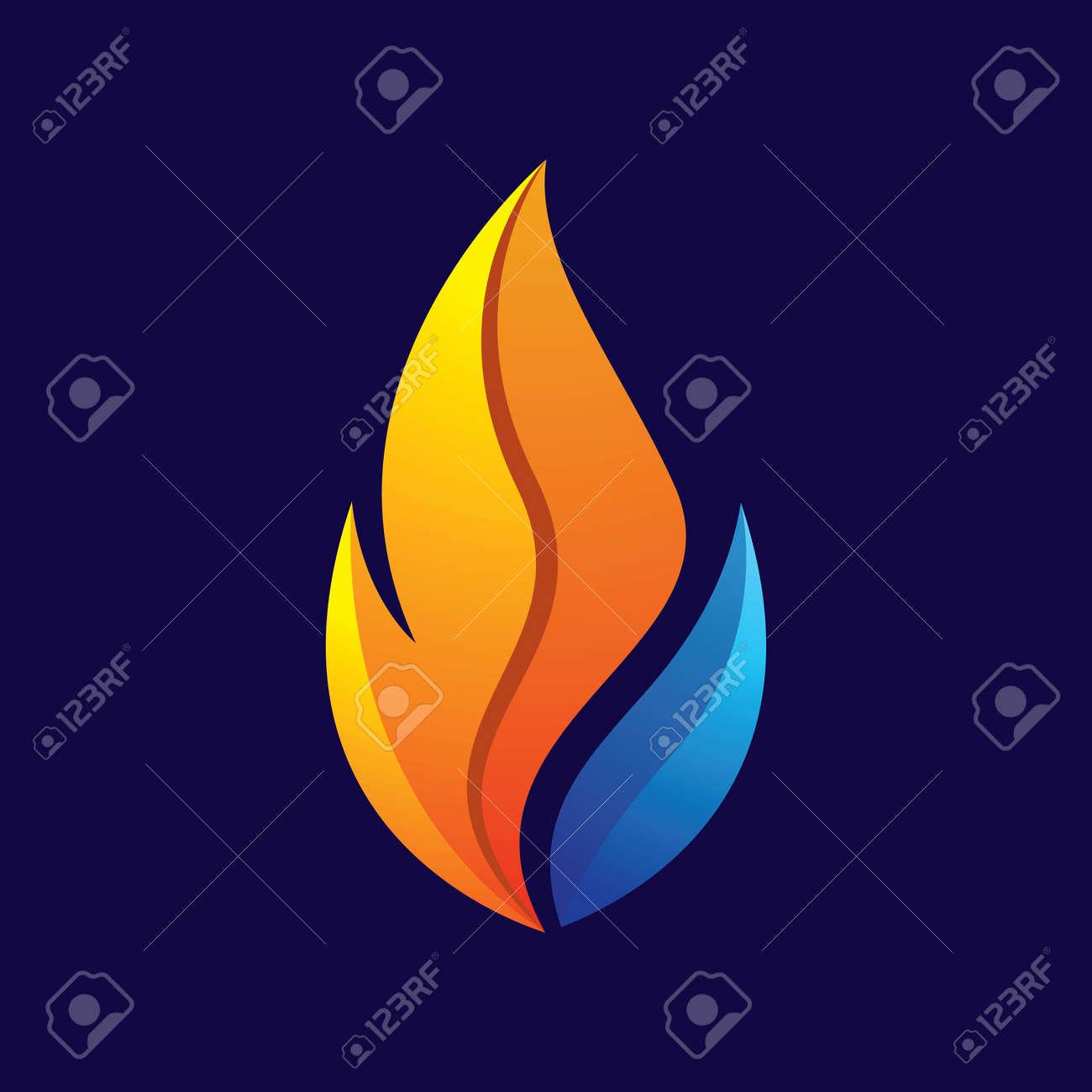 Fire logo images illustration design - 168292204