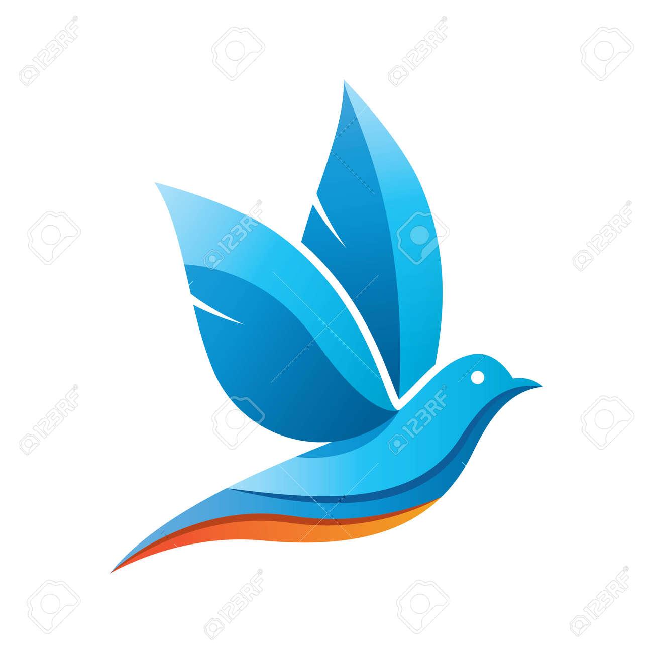 Dove logo images illustration design - 168292213