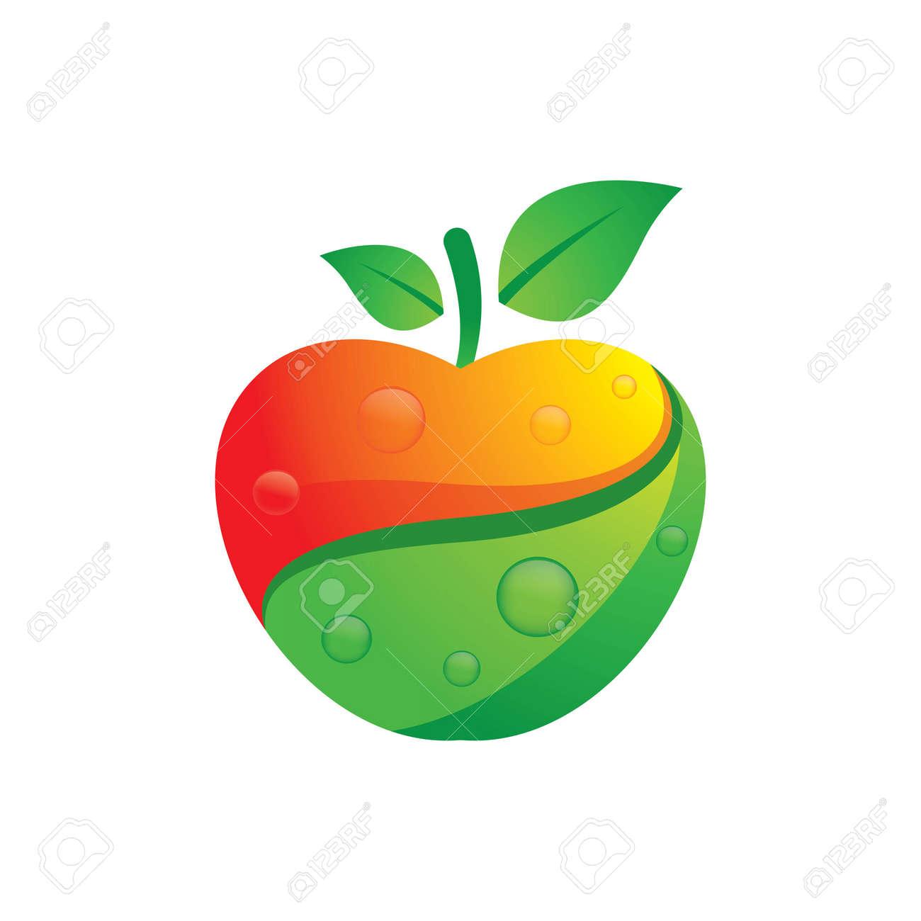 Apple logo images illustration design - 169624646