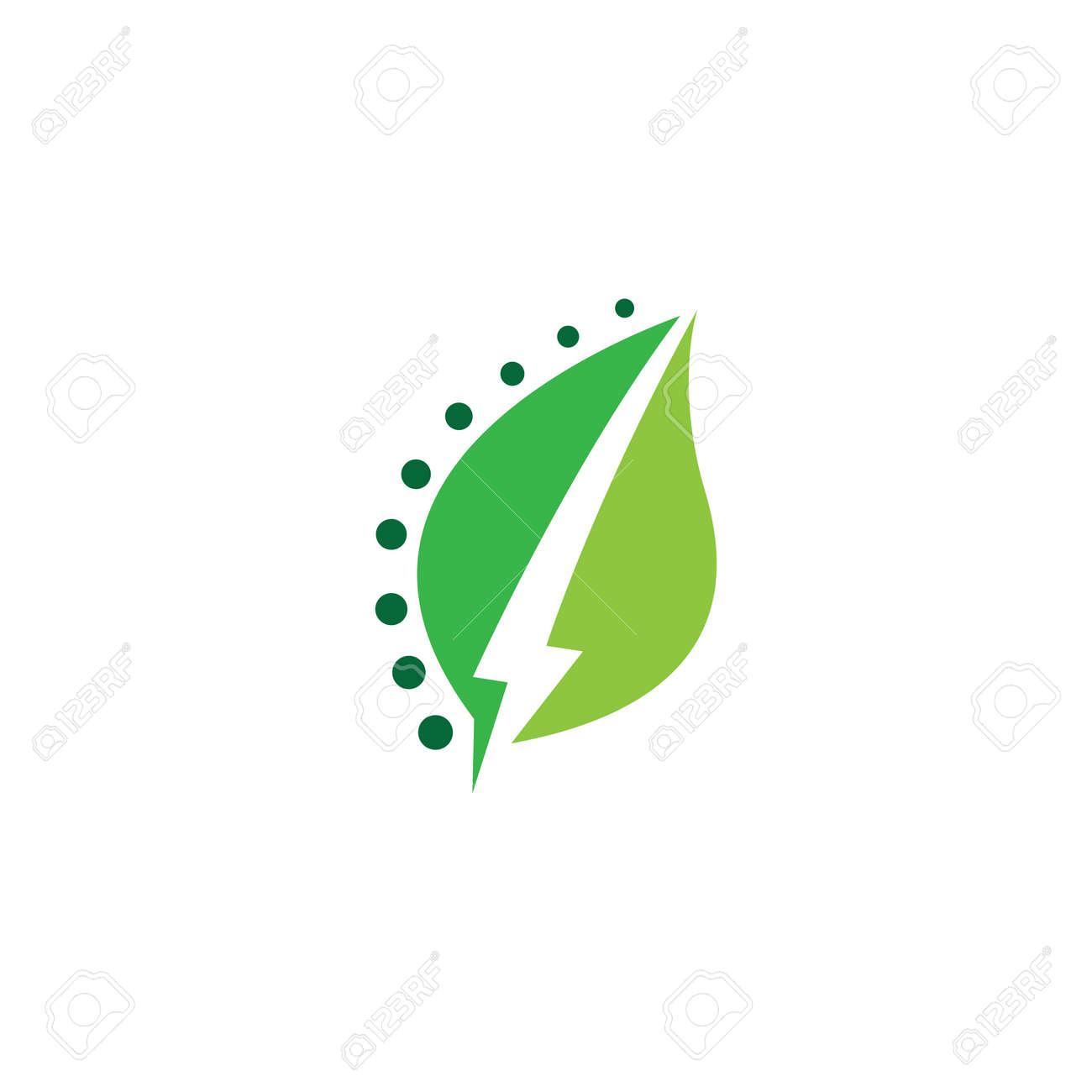 Eco energy logo images illustration design - 169624647