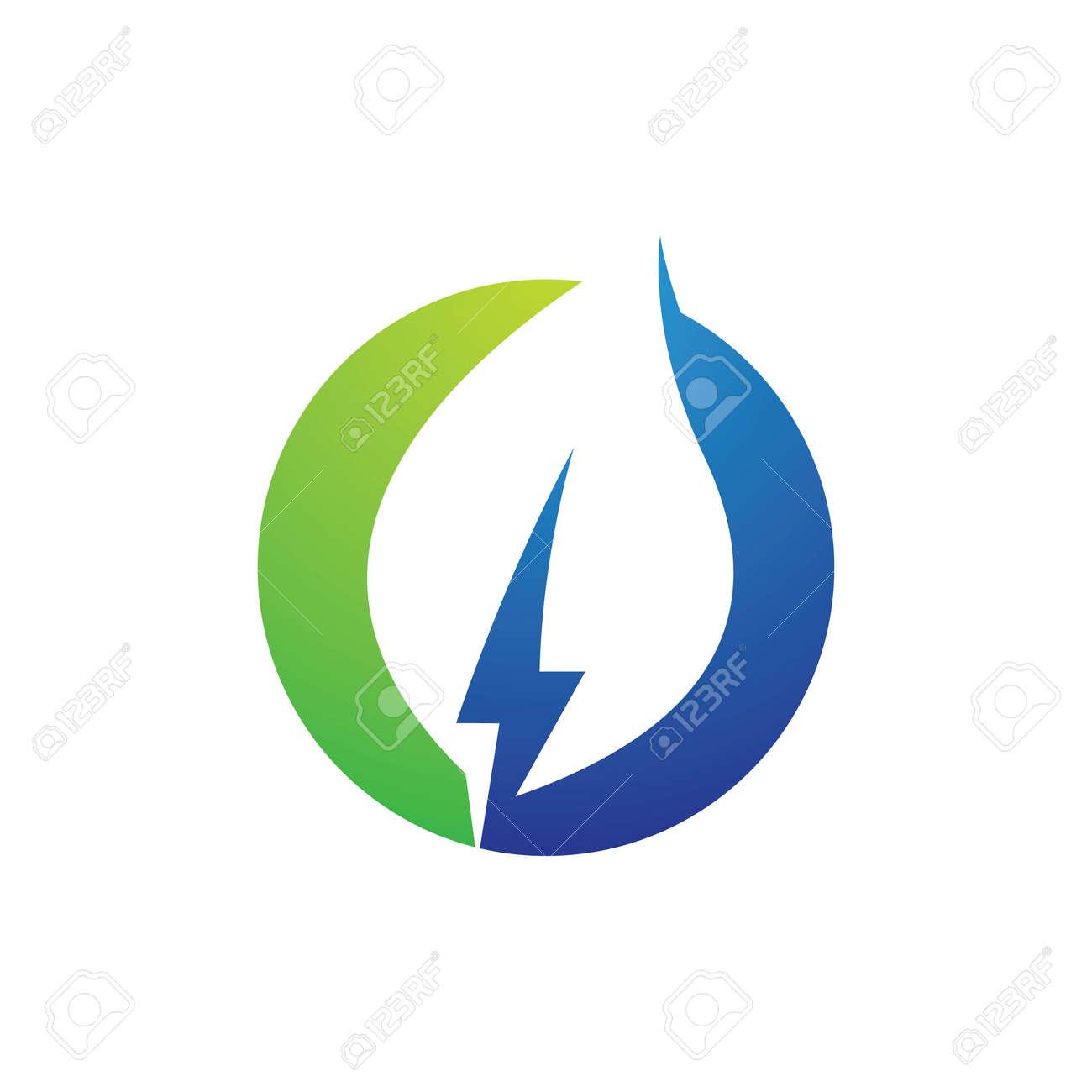 Eco energy logo images illustration design - 169624651