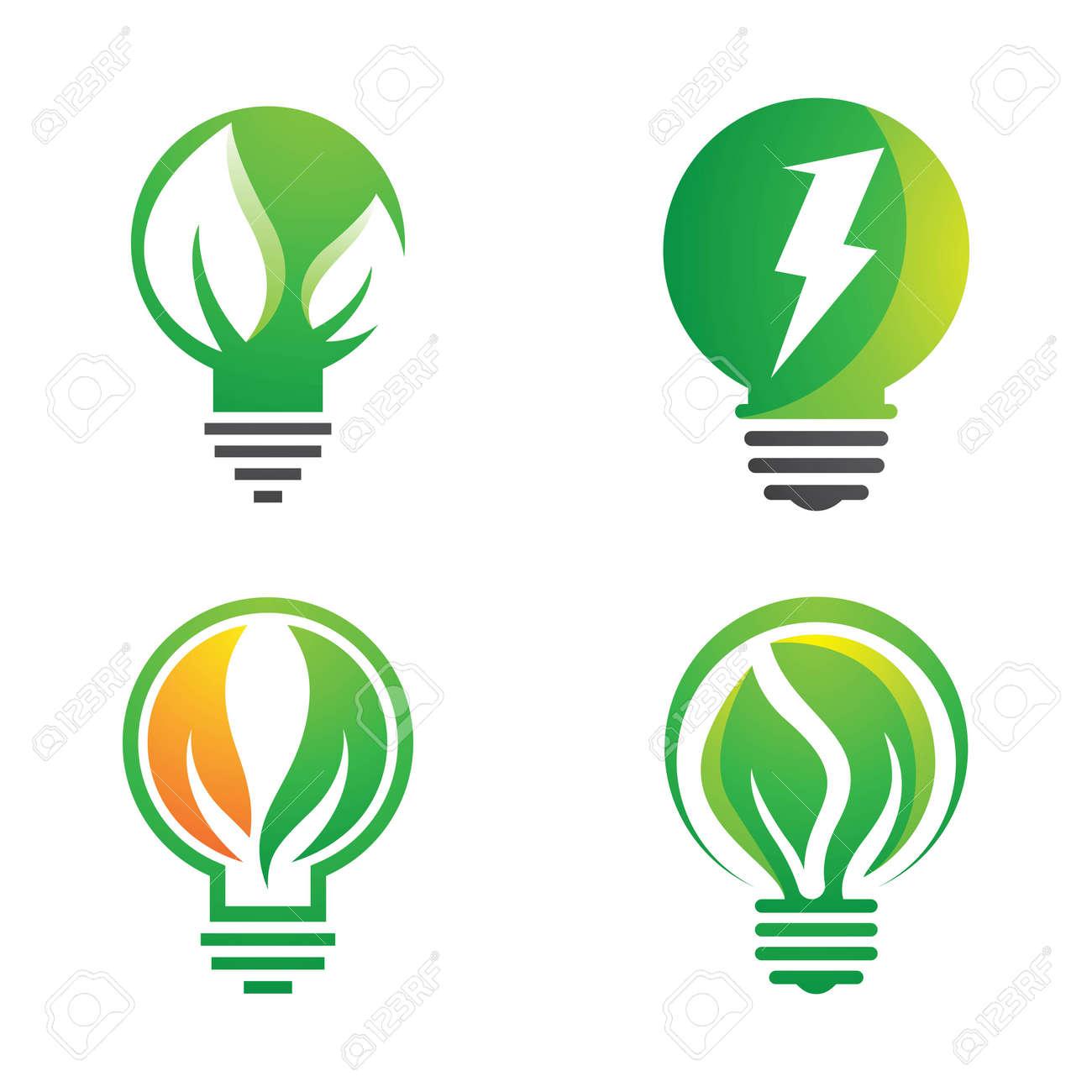 Eco energy logo images illustration design - 171705483