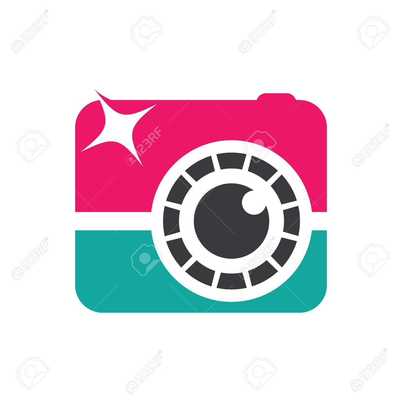 Camera logo images illustration design - 172261477