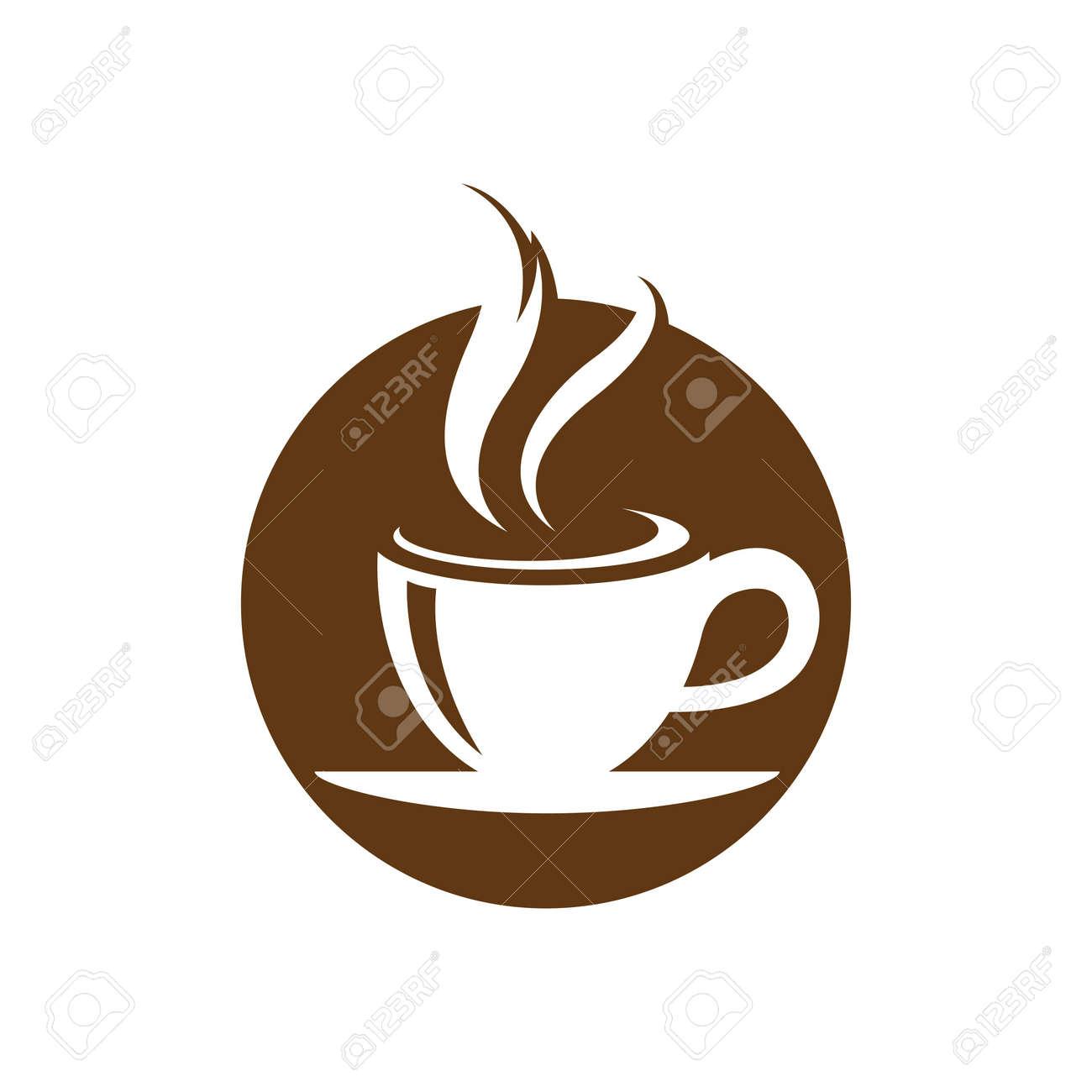 Coffee cup logo images illustration design - 172261487