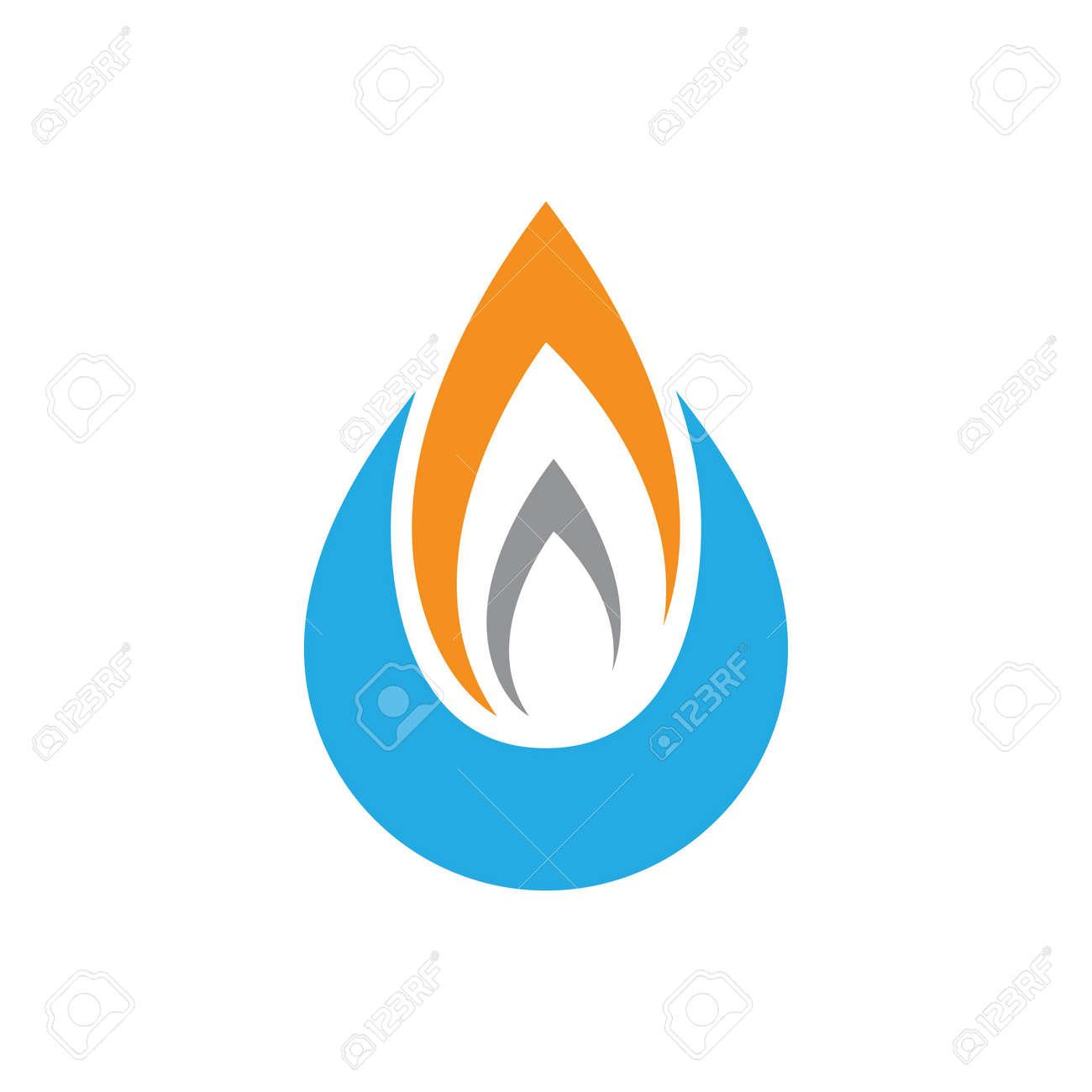Oil and gas logo images illustration design - 172261493