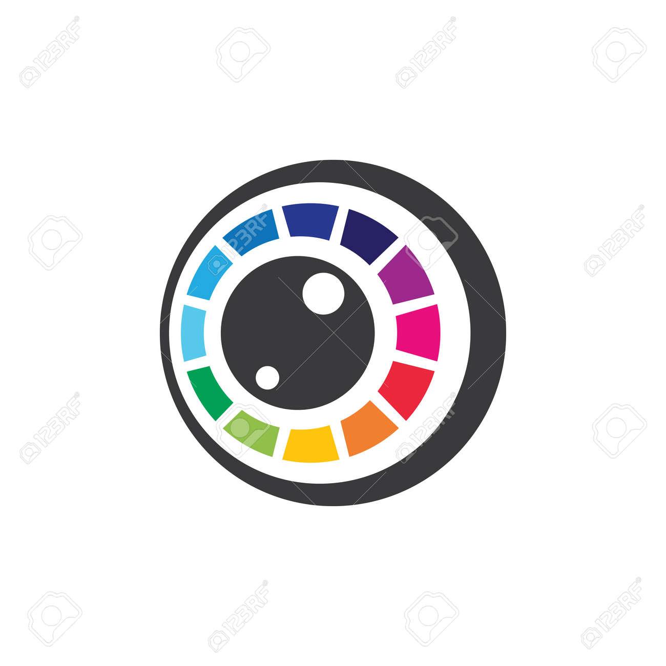 Camera logo images illustration design - 172261748
