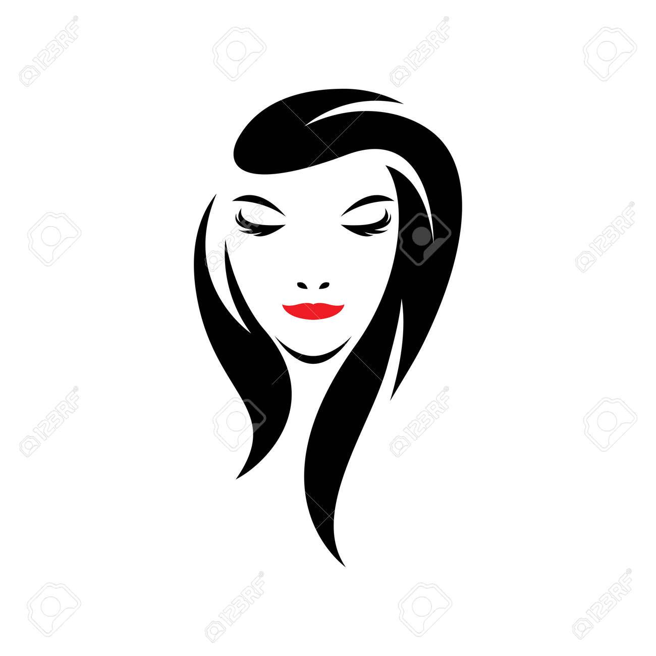 Beauty hair and salon logo images illustration design - 173289000