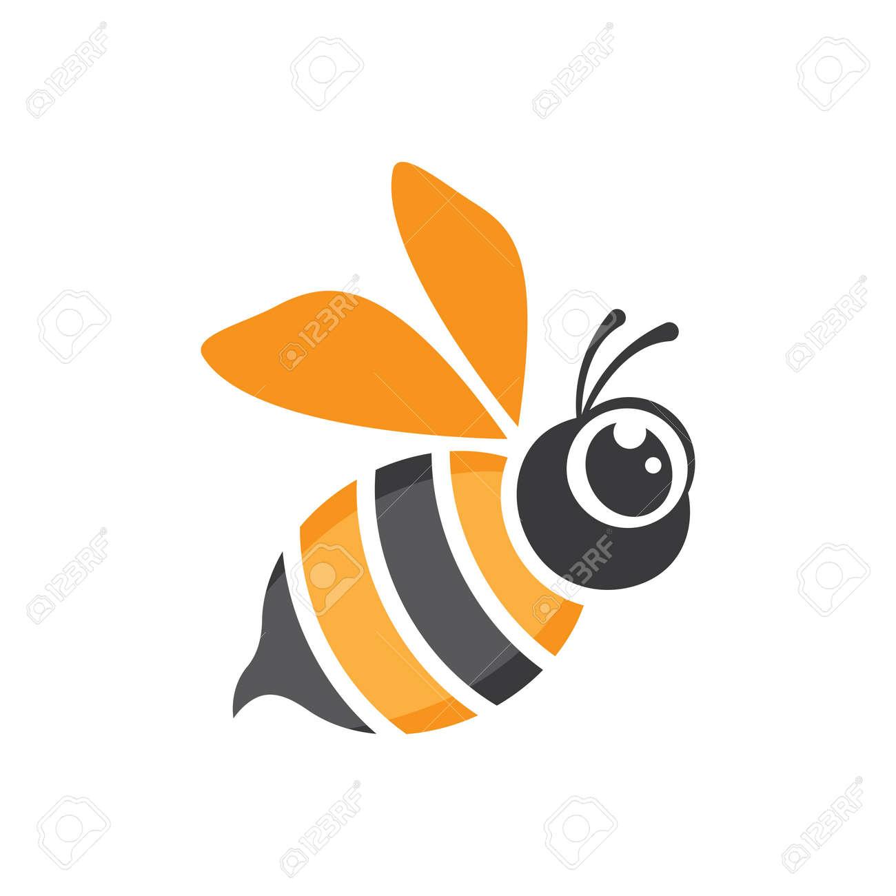 Bee logo images illustration design - 173289057