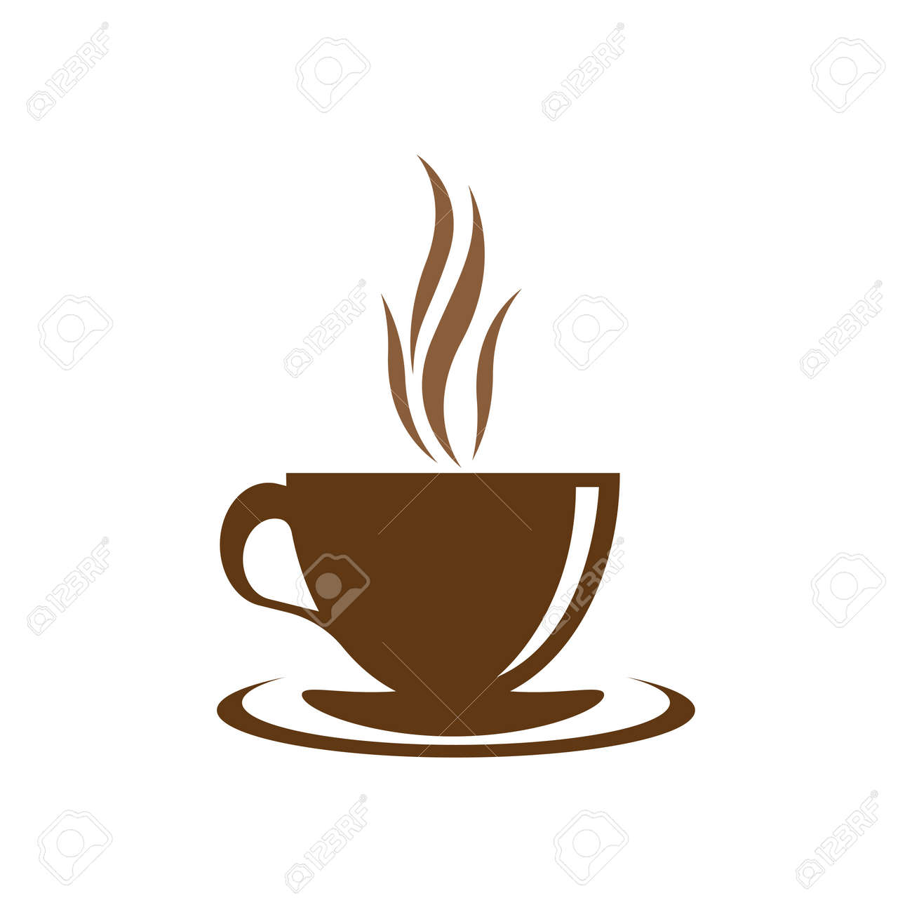 Coffee cup logo images illustration design - 173289062