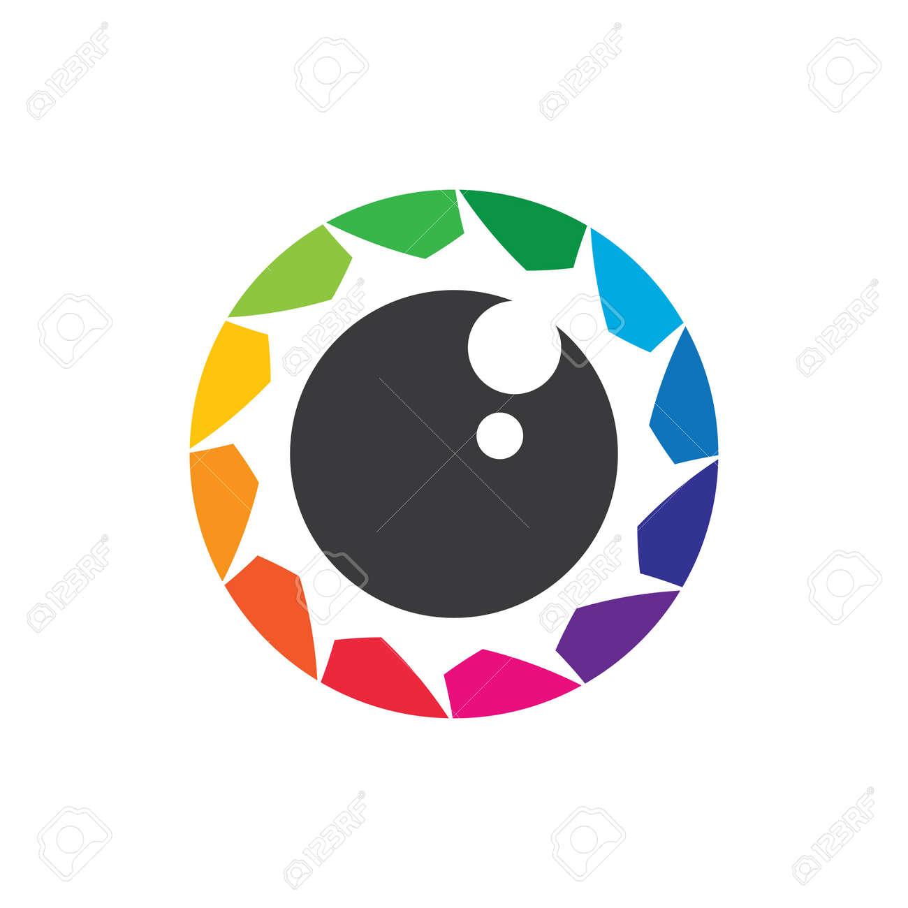 Camera logo images illustration design - 173289129