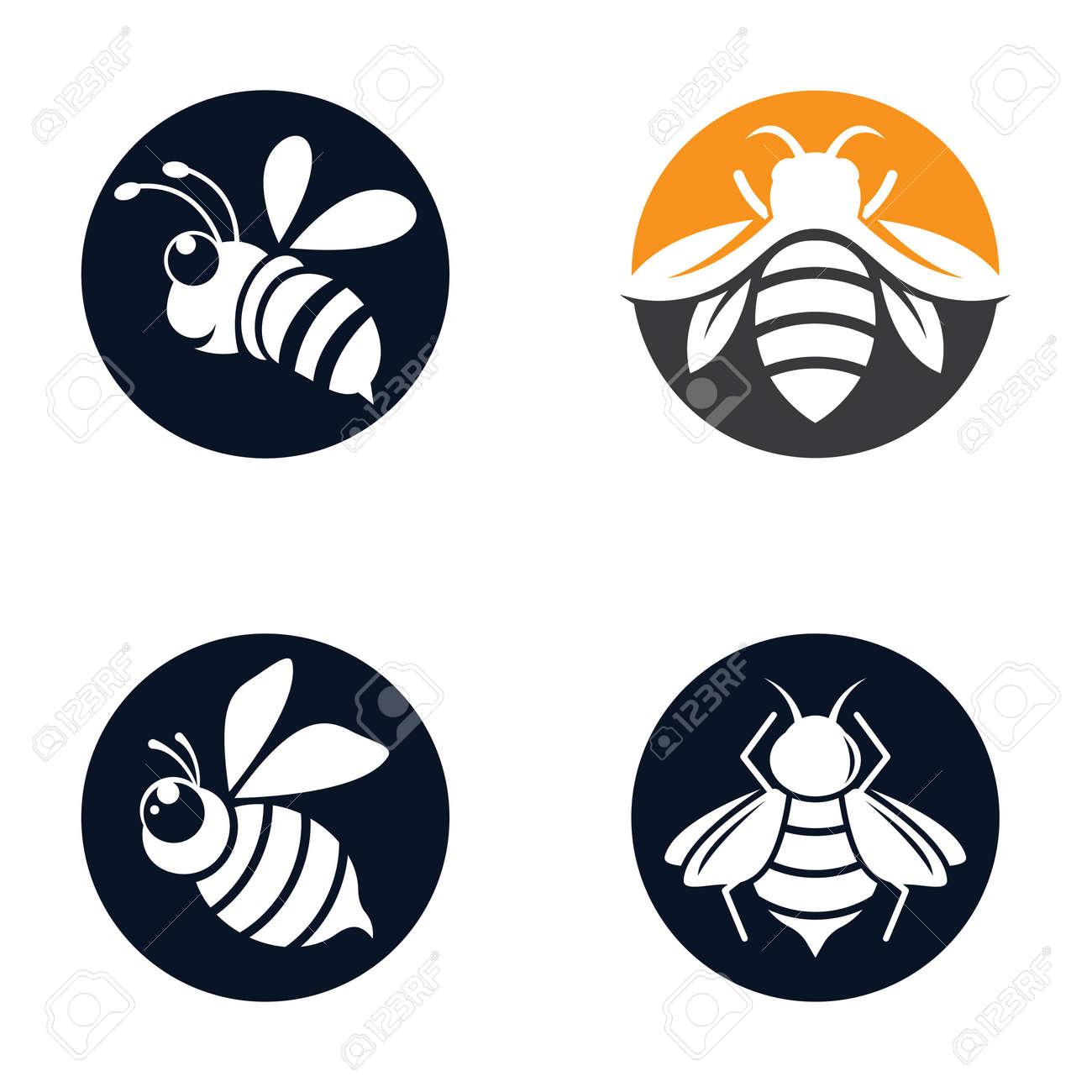 Bee logo images illustration design - 173289134