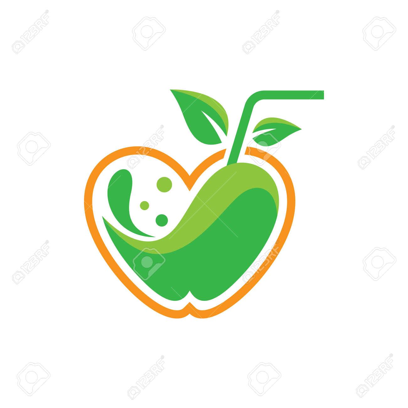 Fresh juice logo images illustration design - 173410499